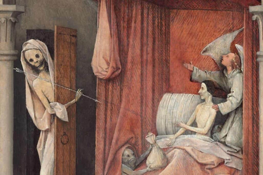 Death and the Miser heironymous bosch